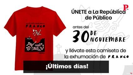 Así creó Eneko la ilustración de nuestra camiseta de Franco