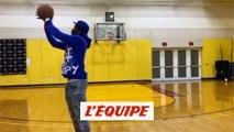 Pogba, blessé, joue au basket à Miami - Foot - WTF