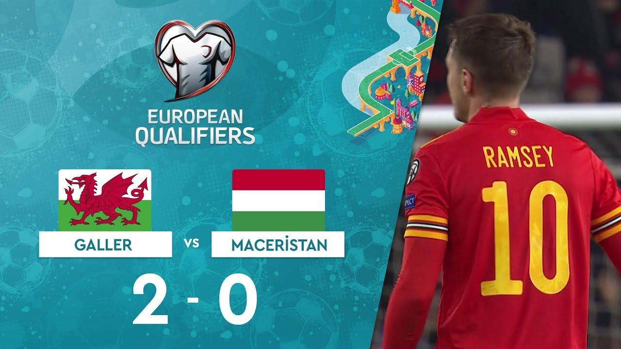 Galler 2-0 Maceristan | EURO 2020 Elemeleri Maç Özeti - E Grubu