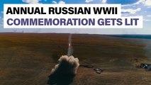 Russia ignites annual WWII counteroffensive commemoration