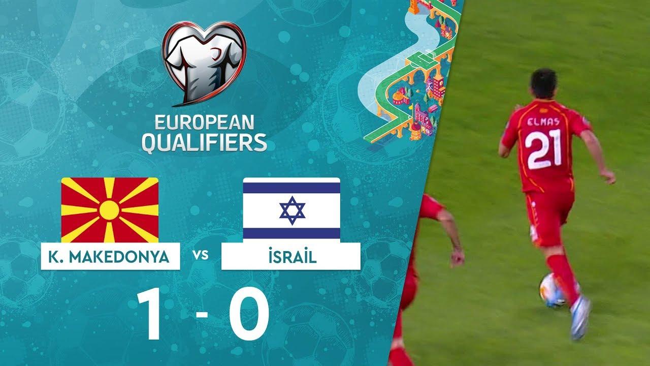 Kuzey Makedonya 1-0 İsrail | EURO 2020 Elemeleri Maç Özeti - G Grubu