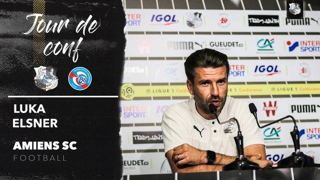 Conférence de presse d'avant Match, ASC -RCSA :  Luka Elsner