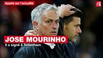 José Mourinho est désormais le nouvel entraineur de Tottenham.