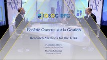 Research Methods for the DBA [Martin Cloutier et Nathalie Mitev]