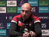 """Pierre Mignoni : """"Je crois beaucoup en mon équipe"""""""