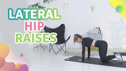 Lateral hip raises - Step to Health