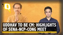Uddhav to be Maha CM, Cong-NCP Get Key Portfolios: All You Need to Know About Sena-NCP-Cong Meet