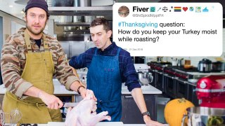 Bon Appétit's Brad & Chris Answer Thanksgiving Questions From Twitter
