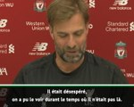 """Tottenham - Klopp : """"Mourinho était désespéré de retrouver un poste"""""""