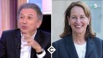 Michel Drucker évoque les confidences de Ségolène Royal, au moment de l'infidélité de François Hollande