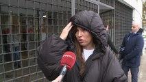 Tamara García está tranquila en el juicio contra Toño Sanchís
