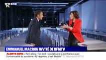 """Retraites: """"On doit reconstruire la confiance avec l'universalité du système. 42 régimes, c'est illisible"""", déclare Emmanuel Macron"""