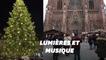 Strasbourg a inauguré son marché de Noël et illuminé son sapin en musique