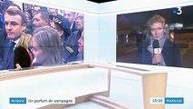 Amiens : un parfum de campagne pour Emmanuel Macron