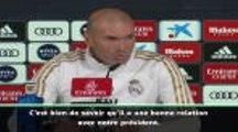 """Transferts - Zidane : """"Mourinho a trouvé un banc ? Ça m'est égal"""""""