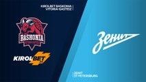 KIROLBET Baskonia Vitoria-Gasteiz - Zenit St Petersburg Highlights |EuroLeague, RS Round 10