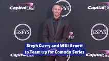 Steph Curry And Will Arnett Partner Up