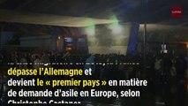 La France devient le « premier pays » d'Europe pour les demandes d'asile