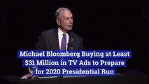 Michael Bloomberg Will Spend Big On Ads