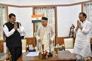 Bolt From Blue: Fadnavis Swears in as Maha CM, Ajit Pawar Dy CM