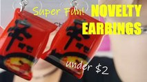 Ep 39 NOVELTY Earrings under $2.00! Super fun & Cute. Glam or sham? Expectations vs Reality. A new LOOT Reviews episode uploaded every week...