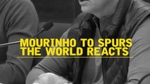 The world reacts to Mourinho's appointment at Spurs