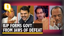 Pawar Stolen: How in Under 12 Hours BJP Upset Sena in Maharashtra