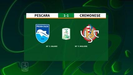 HIGHLIGHTS #PescaraCremonese 1-1 #SerieBKT