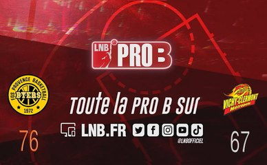 PRO B : Fos-sur-Mer vs Vichy-Clermont (J7)