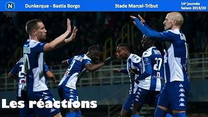Réactions USLD-Bastia Borgo