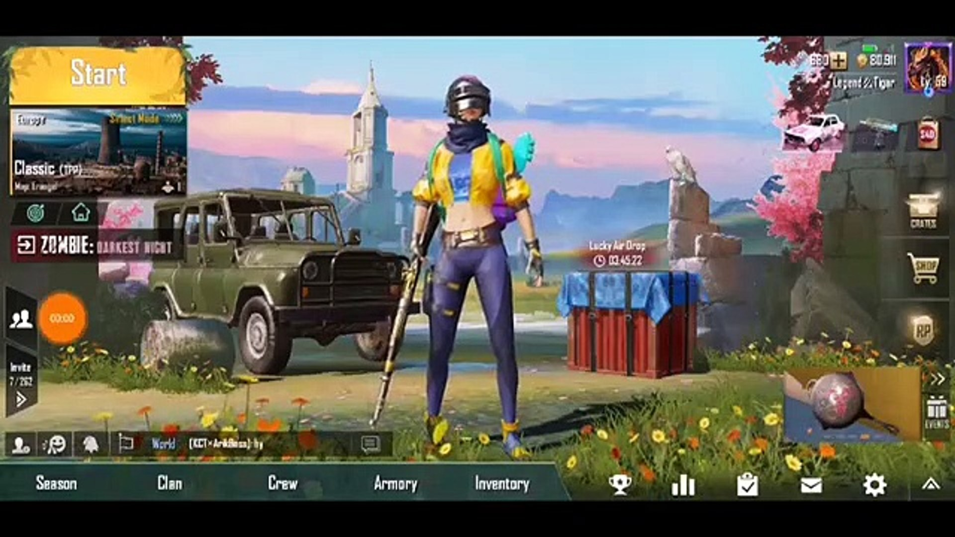 Get free parachute skin in hindi urdu Pubg mobile new item - The Pubg mission