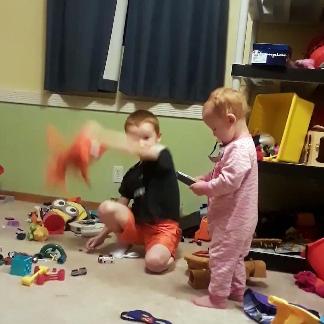 Kids VS Cameras