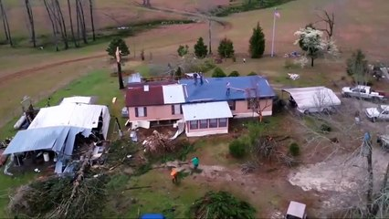 Terrible Tornado in Alabama, USA (March 4, 2019)