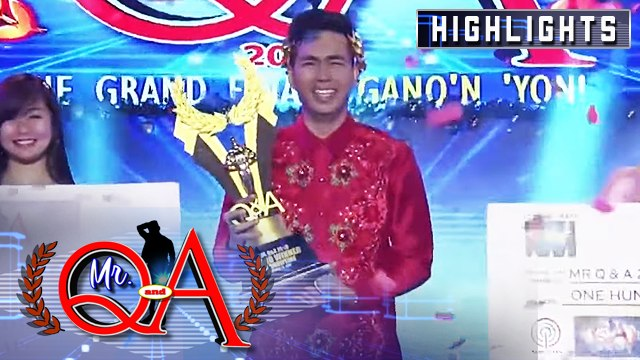 Paul Maawa wins as Mr. Q and A 2019 | It's Showtime Mr. Q and A