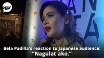 Bela Padilla, nagulat sa iginawi ng Japanese audience sa kanyang pelikula