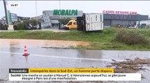 Météo : Les départements du Var et des Alpes-Maritimes ont été placés en vigilance rouge aux pluies et inondations