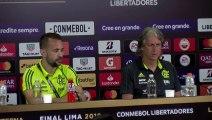 Flamengo 'sem medo'