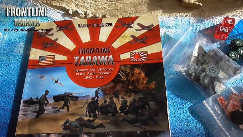 How to play the Battle of Tarawa Nov 20 - 23, 1943