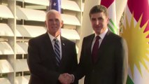 Pence reassures Kurds in surprise Iraq visit