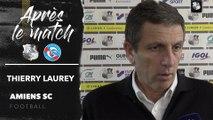 Après le match ASC -RCSA ( 0 - 4 ), Thierry Laurey