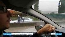 Intempéries : des pluies torrentielles ravagent le Sud-Est
