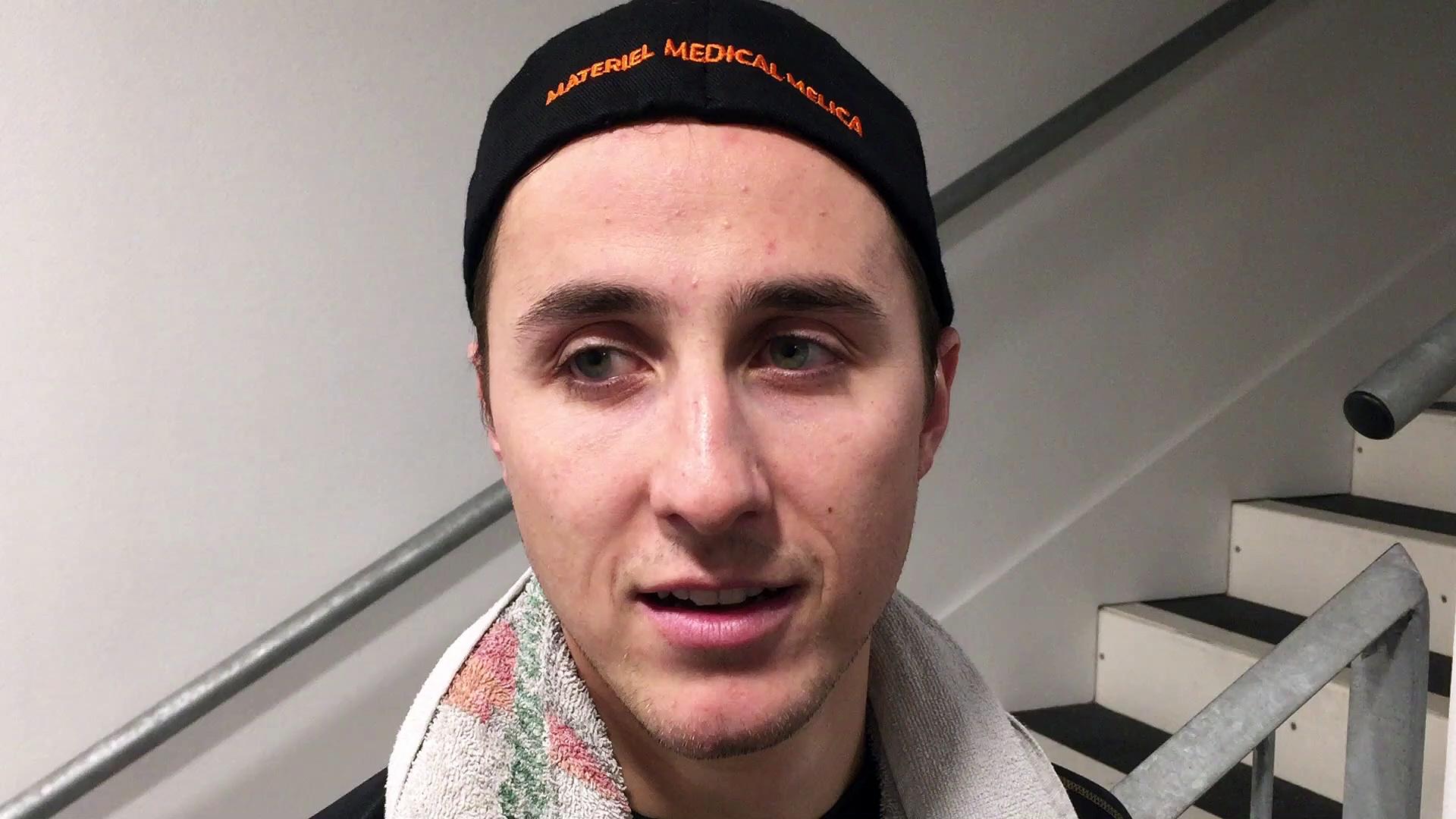 Hockey sur glace : Nicolas Ravel se confie après la victoire du Epinal hockey club face à Courbevoie