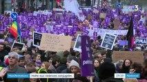 Violences faites aux femmes : une mobilisation record pour dire stop