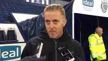 Sheffield Wednesday manager Garry Monk responds to questions that goalkeeper Keiren Westwood went straight down the tunnel without applauding Owls supporters in their defeat against West Brom