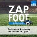 Ligue 1 (J14) : une défaite sans appel (4-0) pour l'Amiens SC face au Racing Club de Strasbourg !