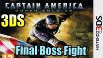 Final Boss Captain America Super Soldier 3DS (FULLScreen) - Gameplay Walkthrough