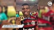 Capixaba Lincoln comemora conquista da Libertadores pelo Flamengo