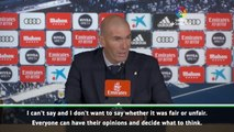 Fans are allowed opinions - Zidane on supporters booing Gareth Bale