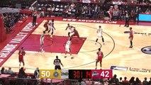 Jaron Blossomgame Posts 17 points & 10 rebounds vs. Santa Cruz Warriors