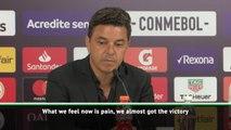 Gallardo 'feeling pain' after dramatic defeat to Flamengo